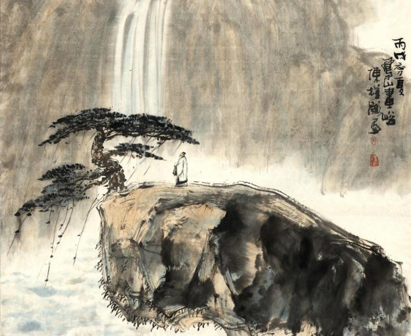 zhuangzi-contemplates-waterfall2
