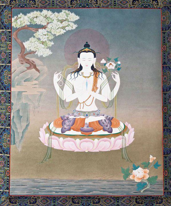 Chenrezig-by-HH-17th-Karmapa